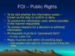foi public rights