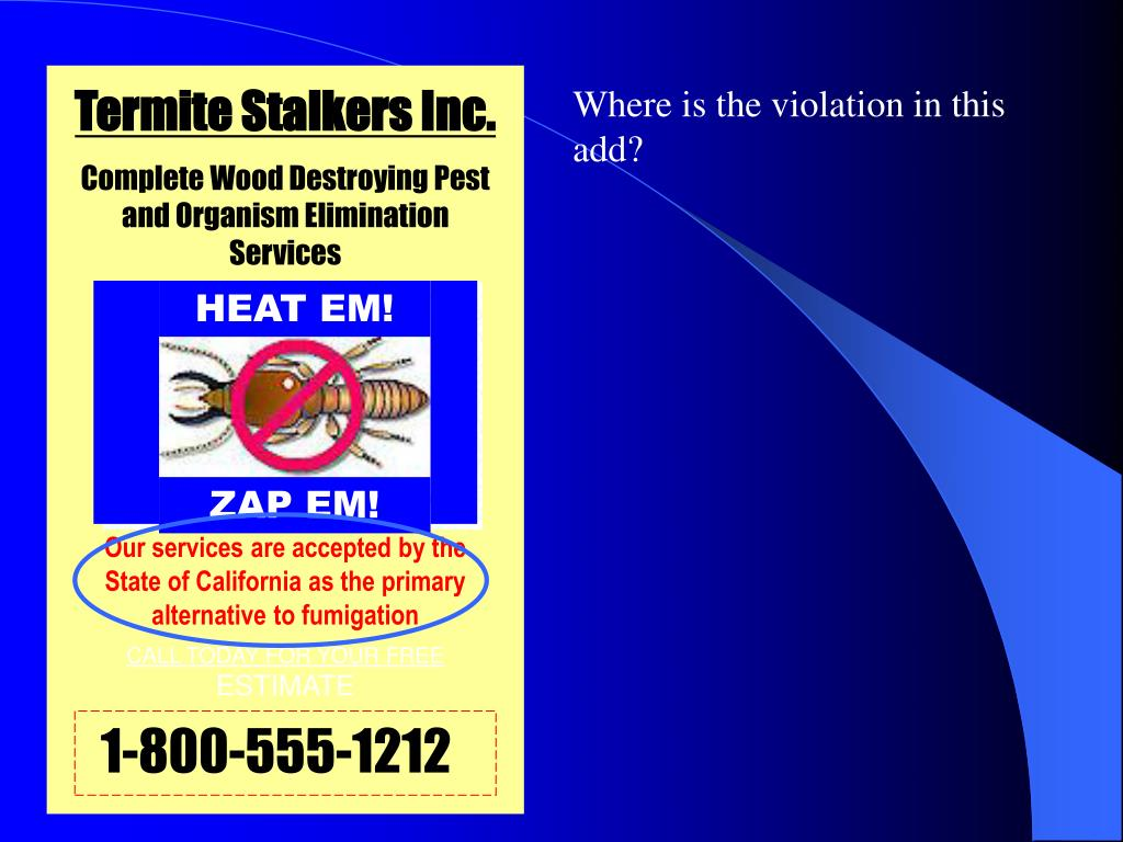 Termite Stalkers Inc.