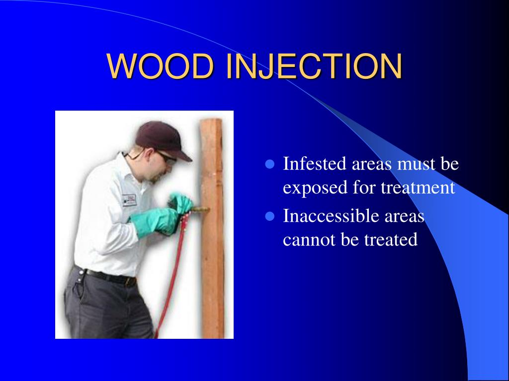 WOOD INJECTION