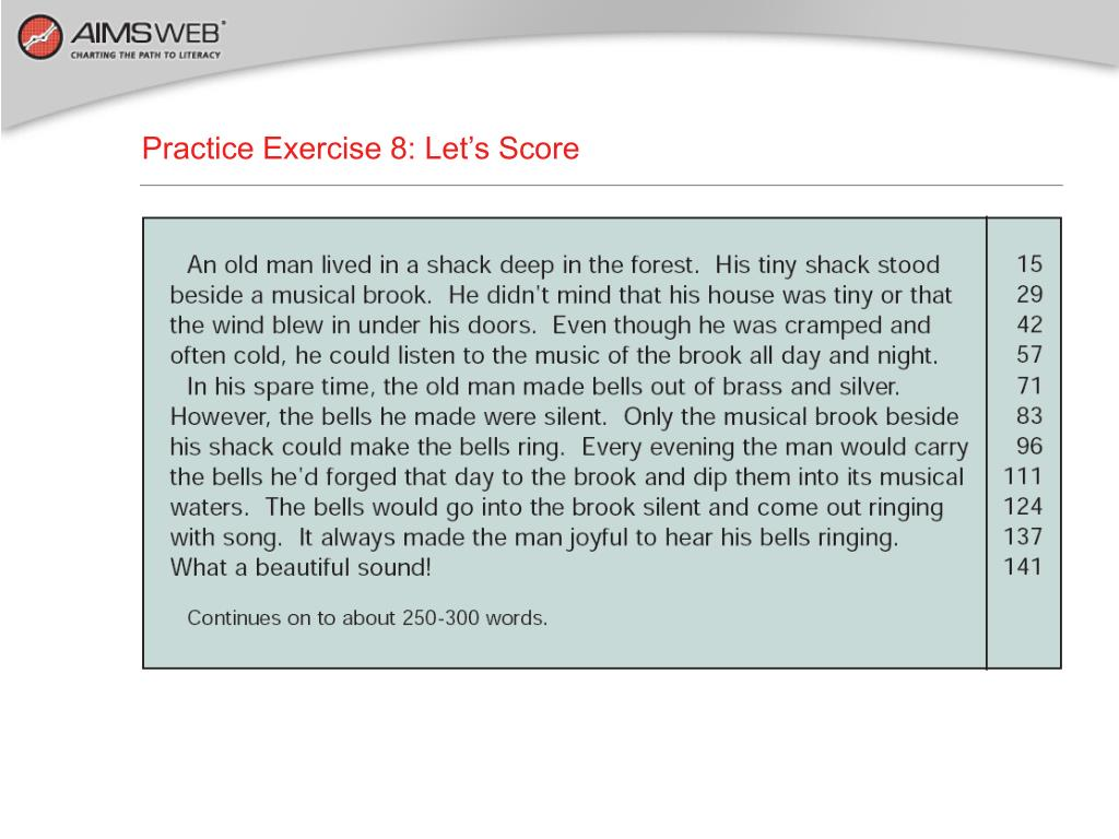 Practice Exercise 8: Let's Score