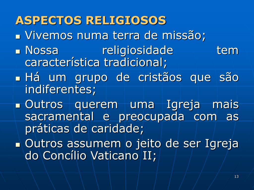 ASPECTOS RELIGIOSOS