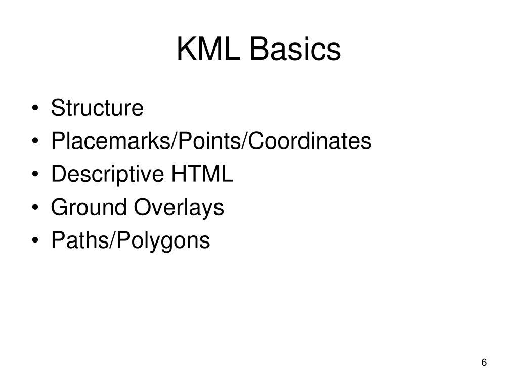 KML Basics