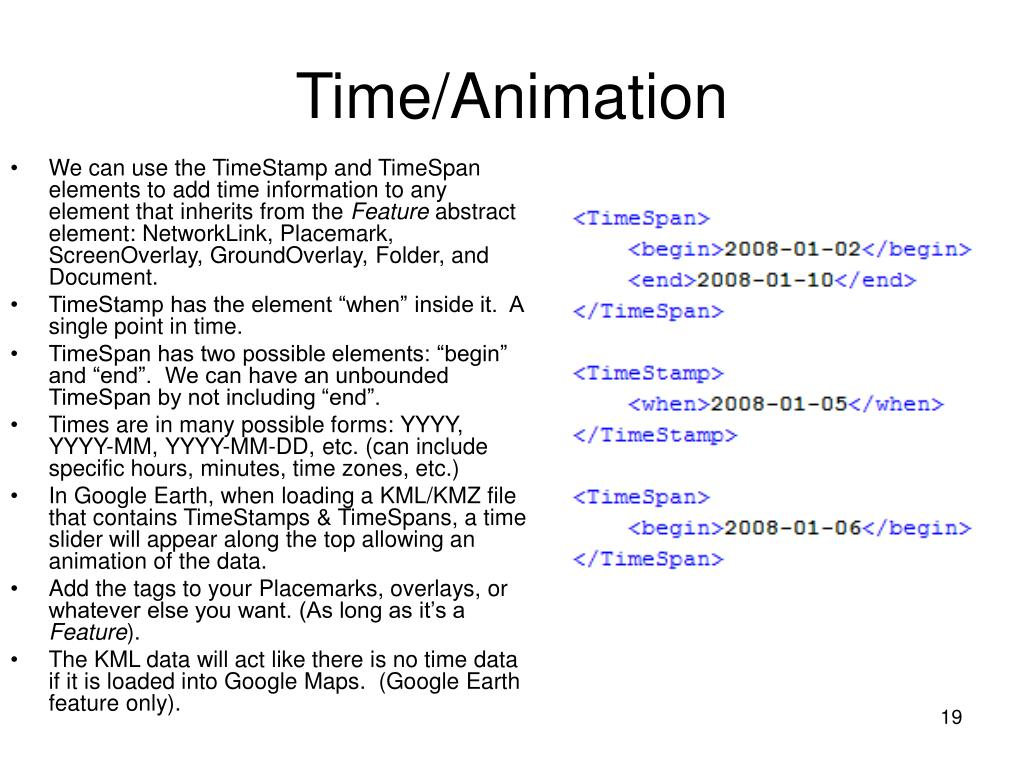Time/Animation