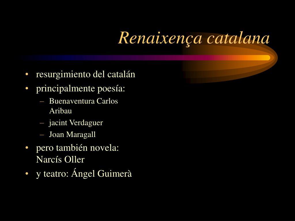 Renaixença catalana