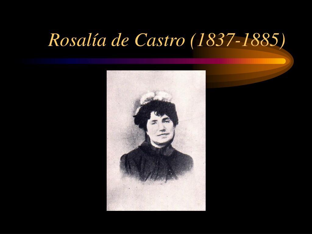 Rosalía de Castro (1837-1885)