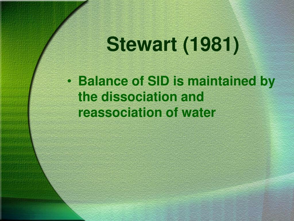 Stewart (1981)