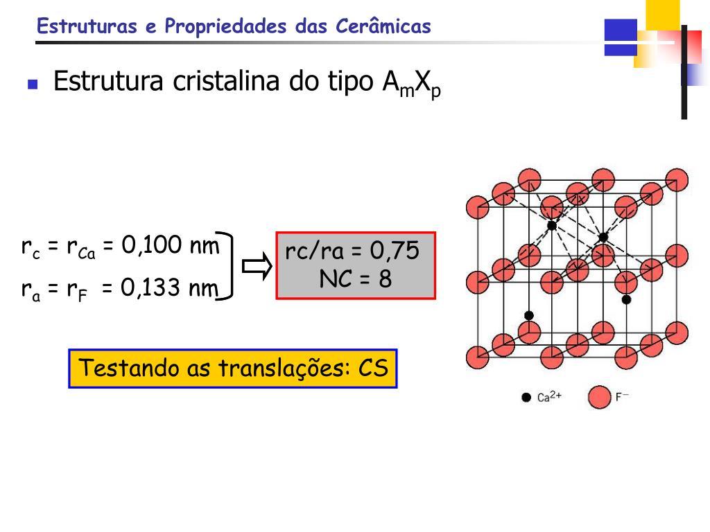 Estrutura cristalina do tipo A