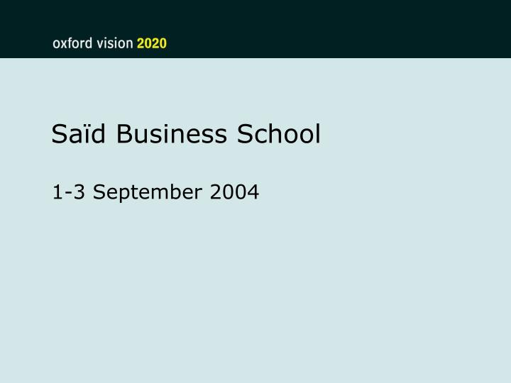 Sa d business school