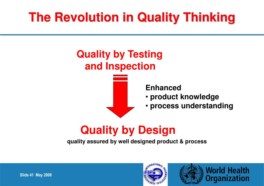 The Revolution in Quality Thinking