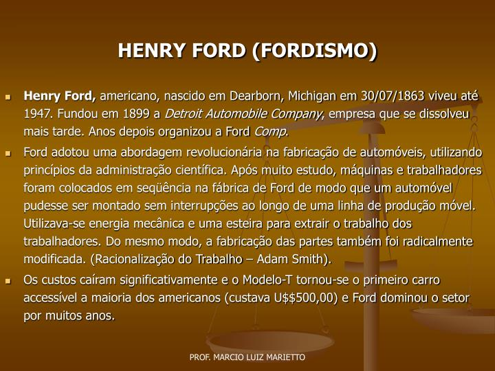 Powerpoint presentations on henry ford for Ford motor company powerpoint template