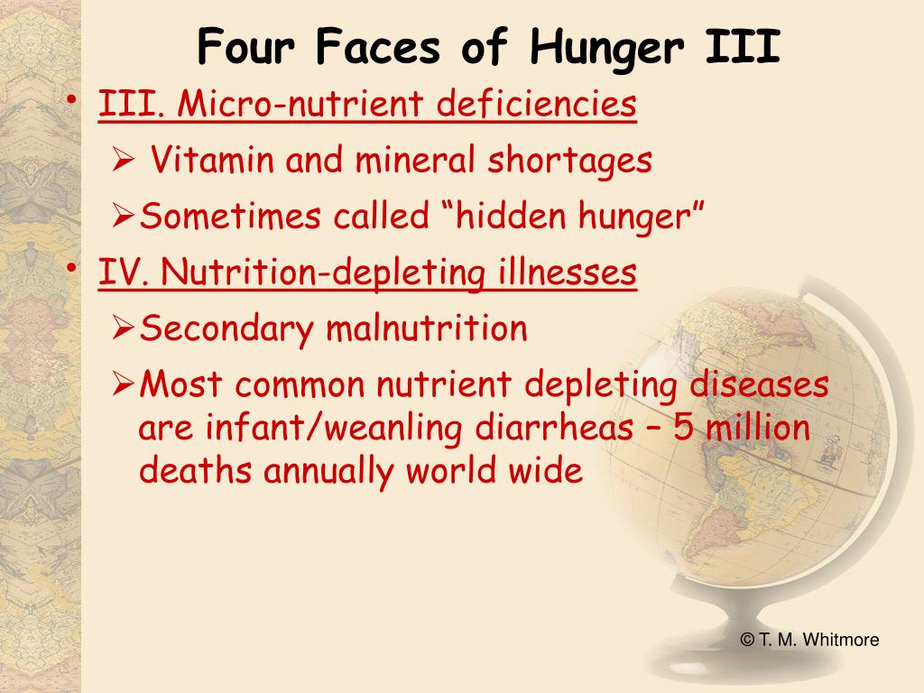 Four Faces of Hunger III