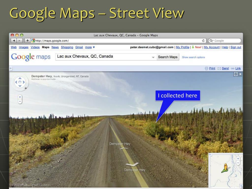 Google Maps – Street View