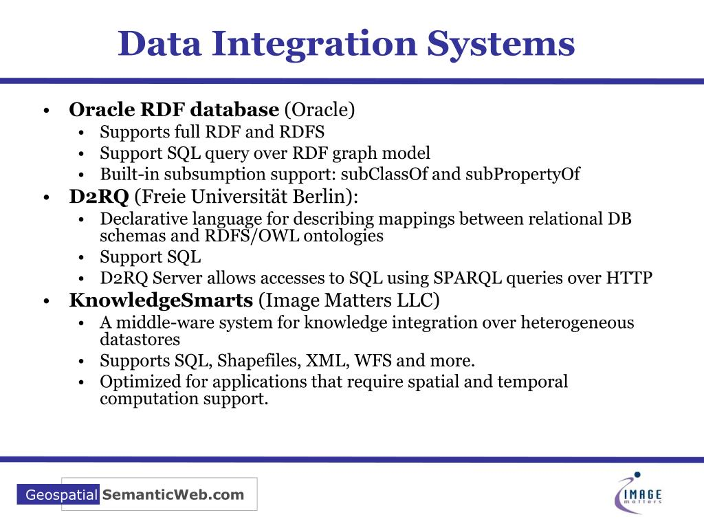 Data Integration Systems