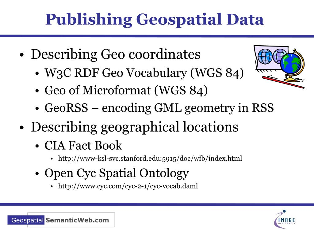 Publishing Geospatial Data
