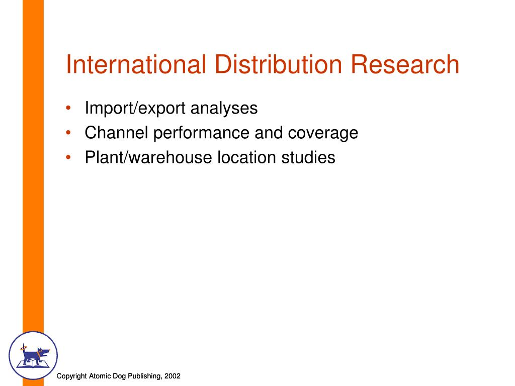International Distribution Research