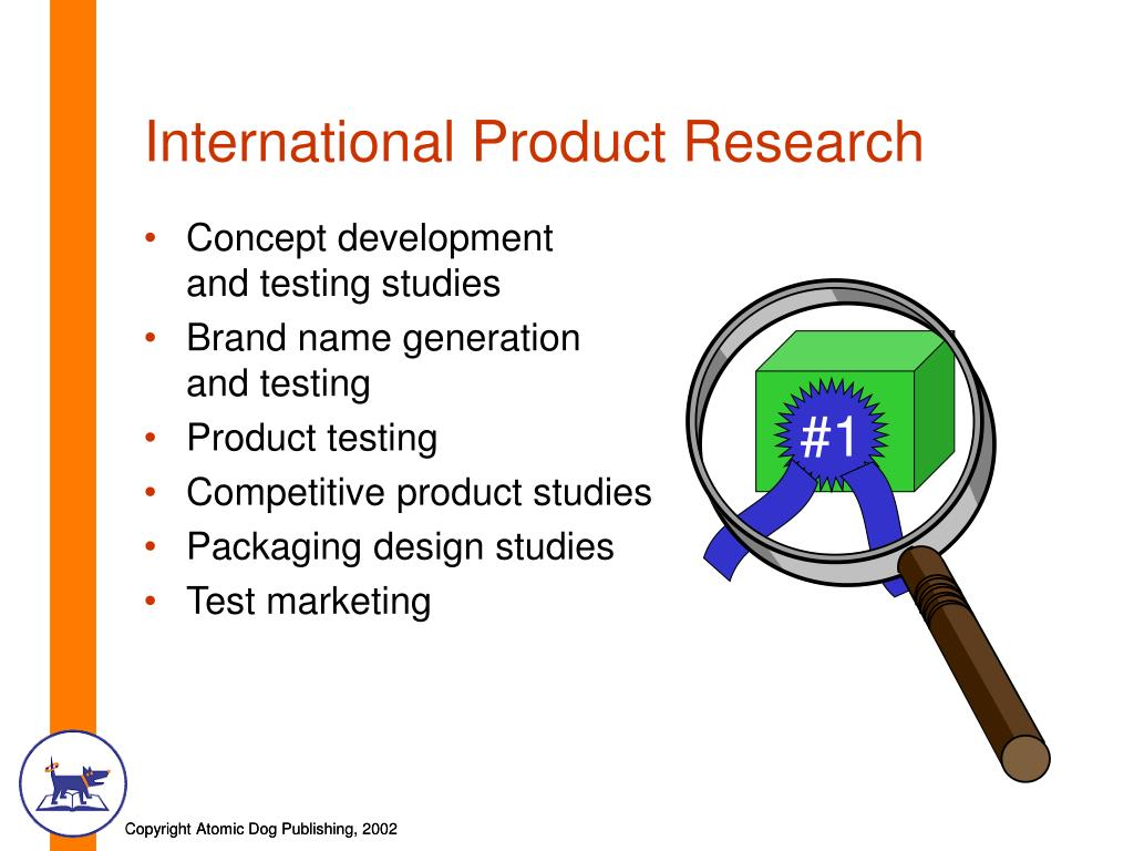 International Product Research