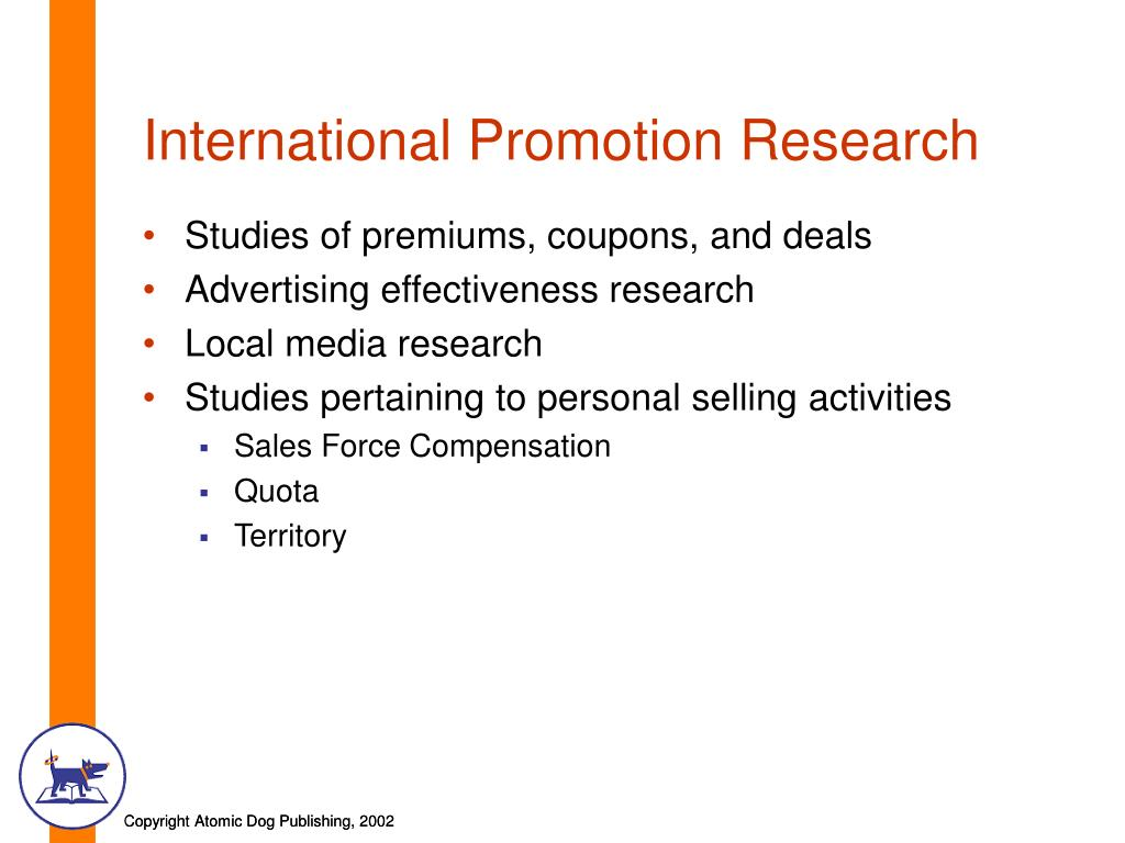 International Promotion Research