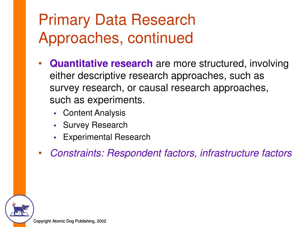 Primary Data Research
