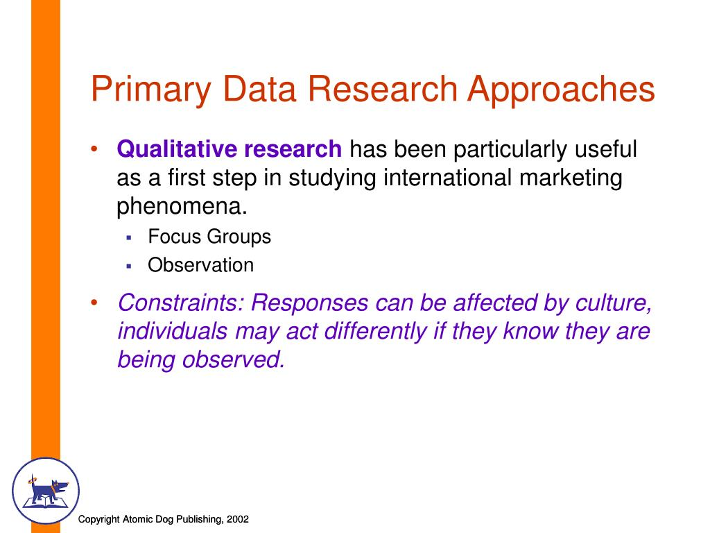 research primary data Definition of primary data: data used in research originally obtained through the direct efforts of the researcher through surveys, interviews and.