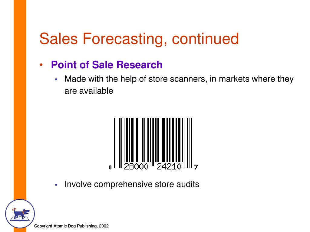 Sales Forecasting, continued