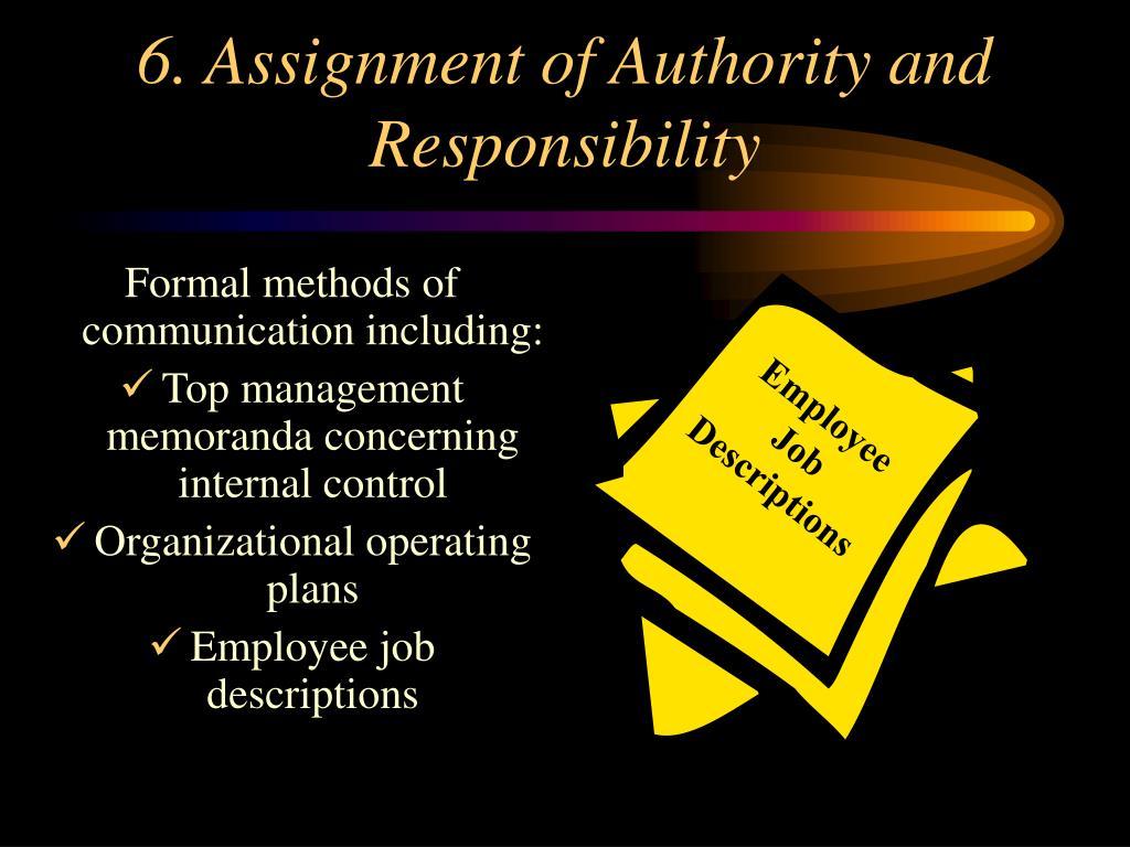 Employee Job Descriptions
