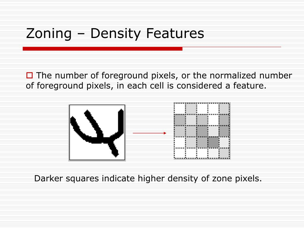 Zoning – Density Features