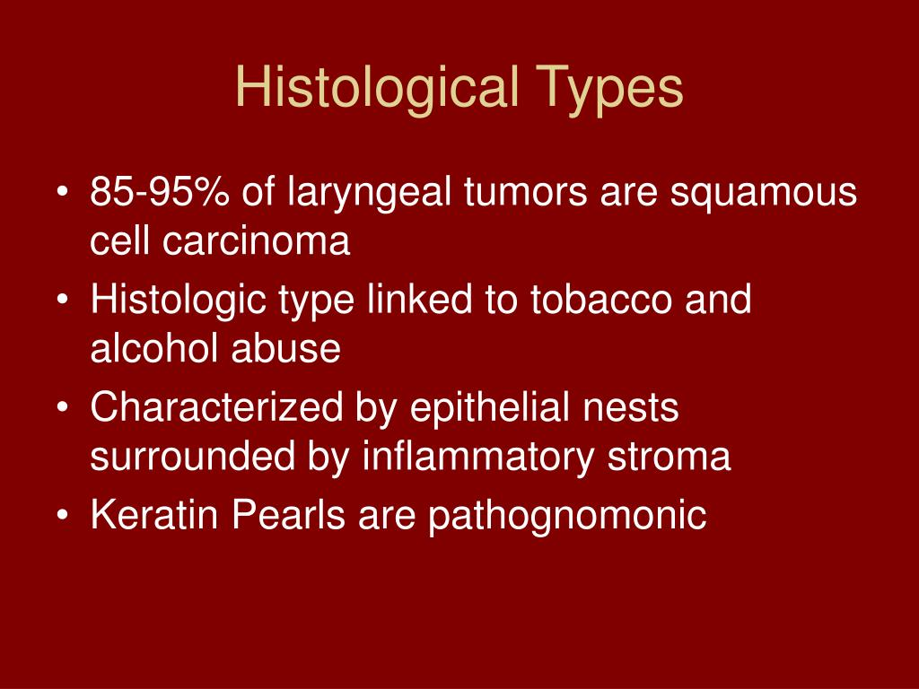 Histological Types