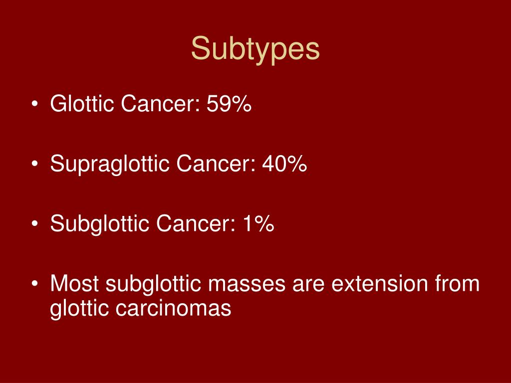 Subtypes