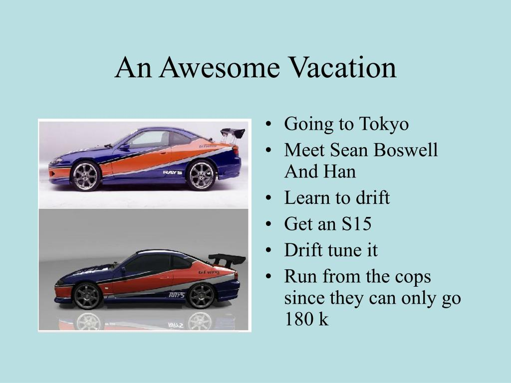 An Awesome Vacation