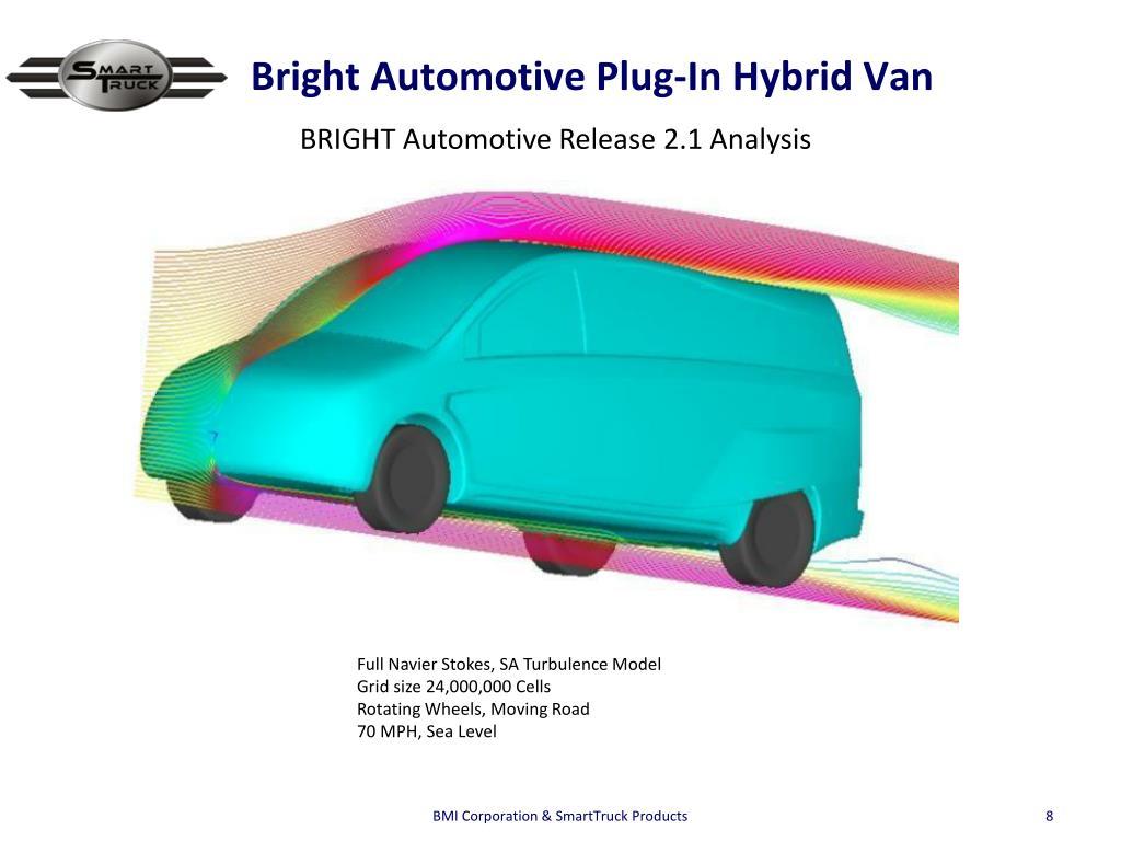 Bright Automotive Plug-In Hybrid Van