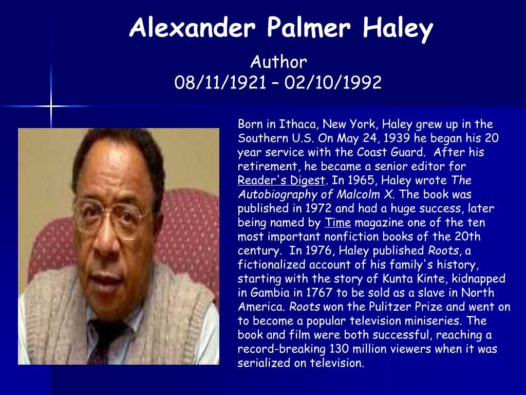 Alexander Palmer Haley
