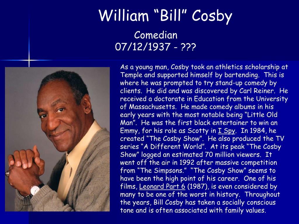 """William """"Bill"""" Cosby"""