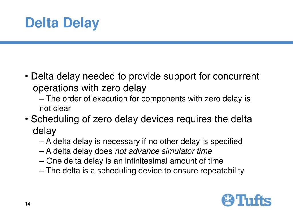 Delta Delay