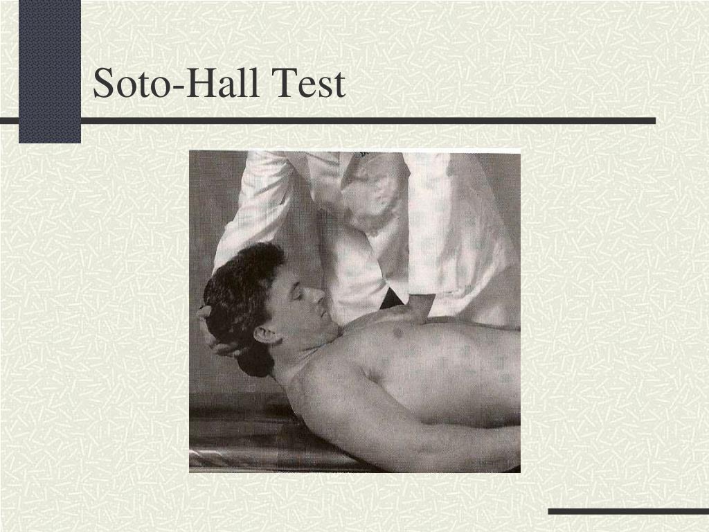 Soto-Hall Test
