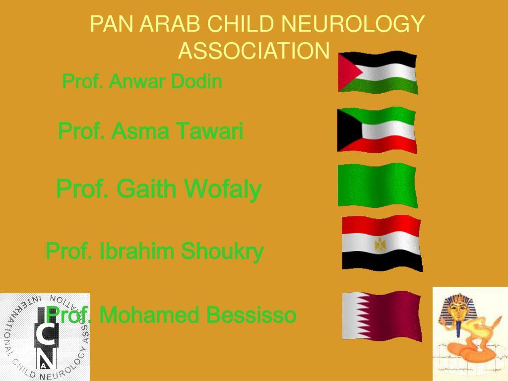PAN ARAB CHILD NEUROLOGY ASSOCIATION