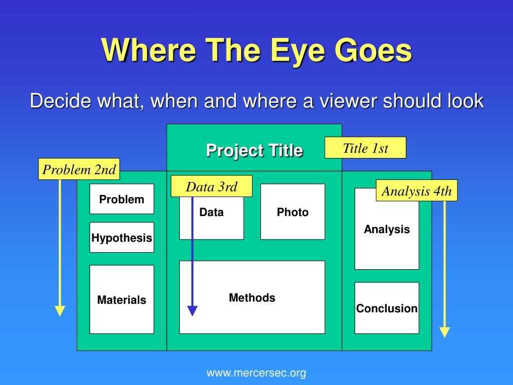 Where The Eye Goes