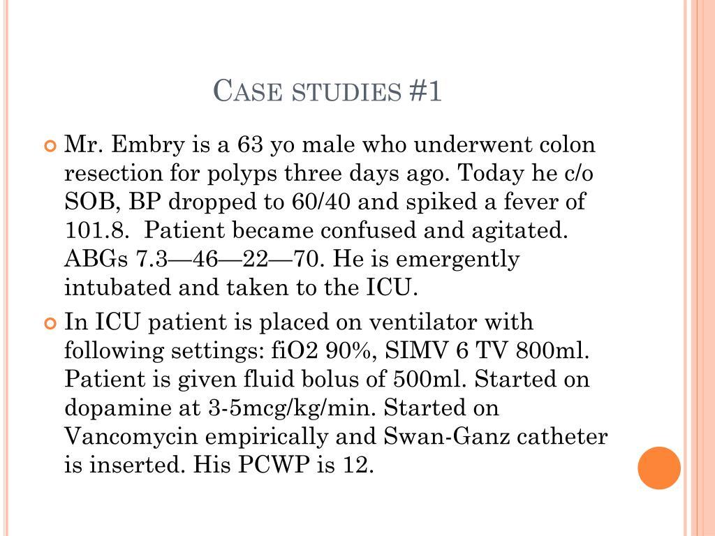 Case studies #1