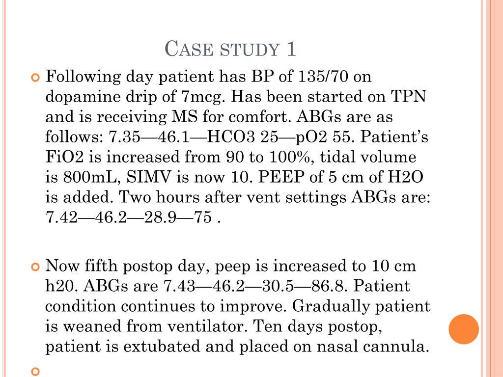 Case study 1