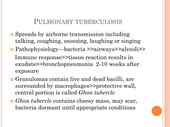Pulmonary tuberculosis3