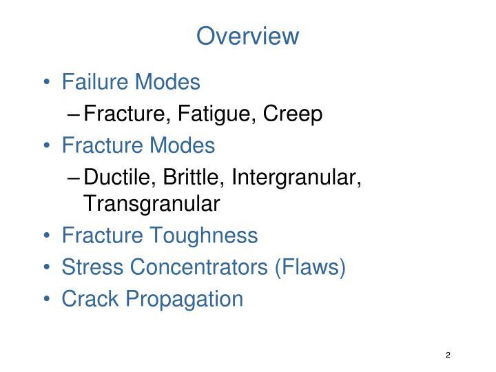 crack propagation in high stress fatigue cracking