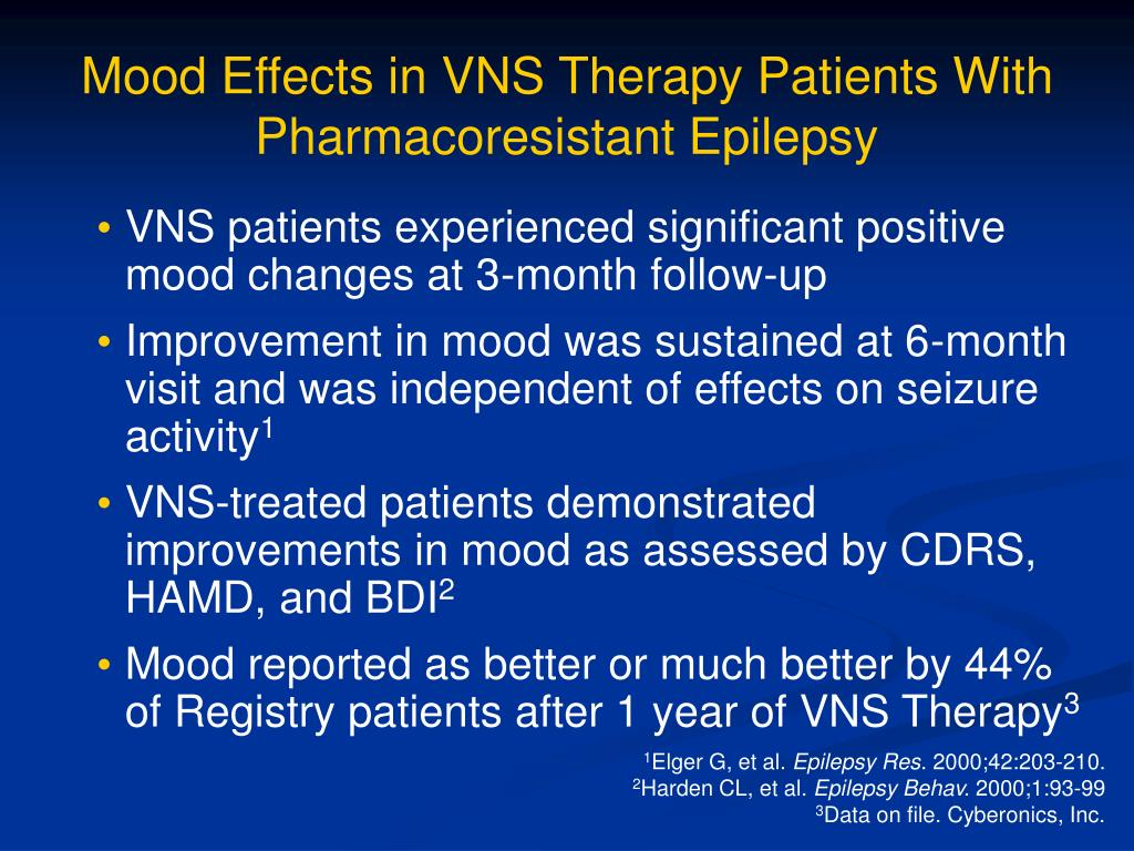 Mood Effects in VNS Therapy Patients With Pharmacoresistant Epilepsy