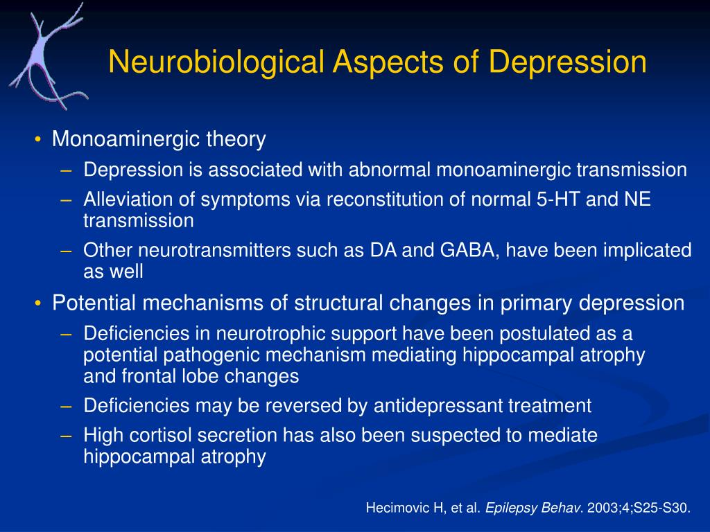 Neurobiological Aspects of Depression