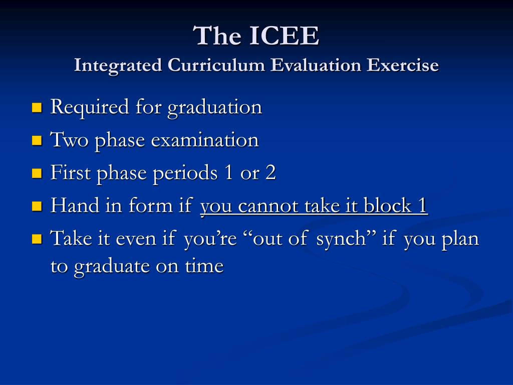 The ICEE