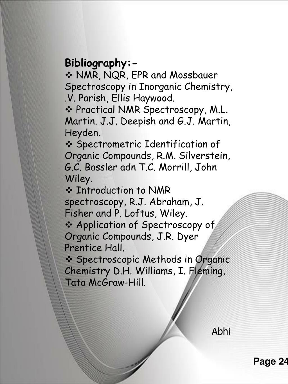Bibliography:-