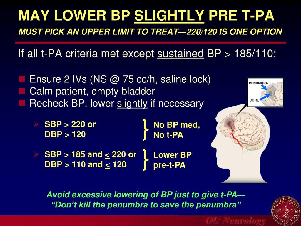 Lower BP