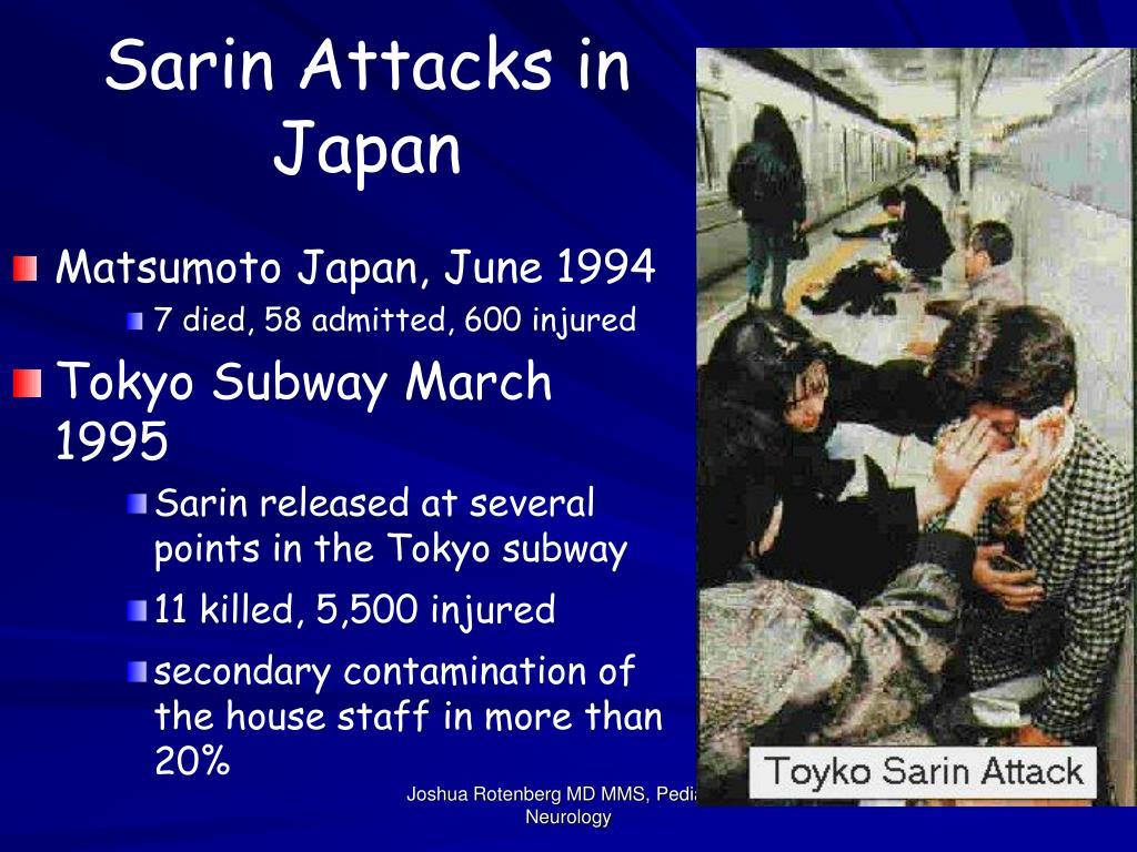 Sarin Attacks in Japan
