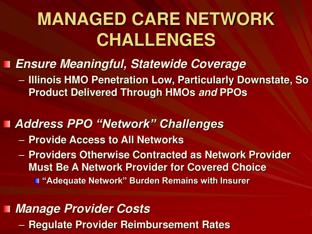 Managed care penetration