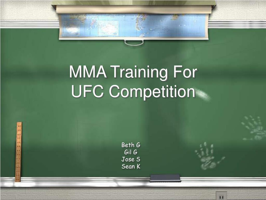 MMA Training For UFC Competition