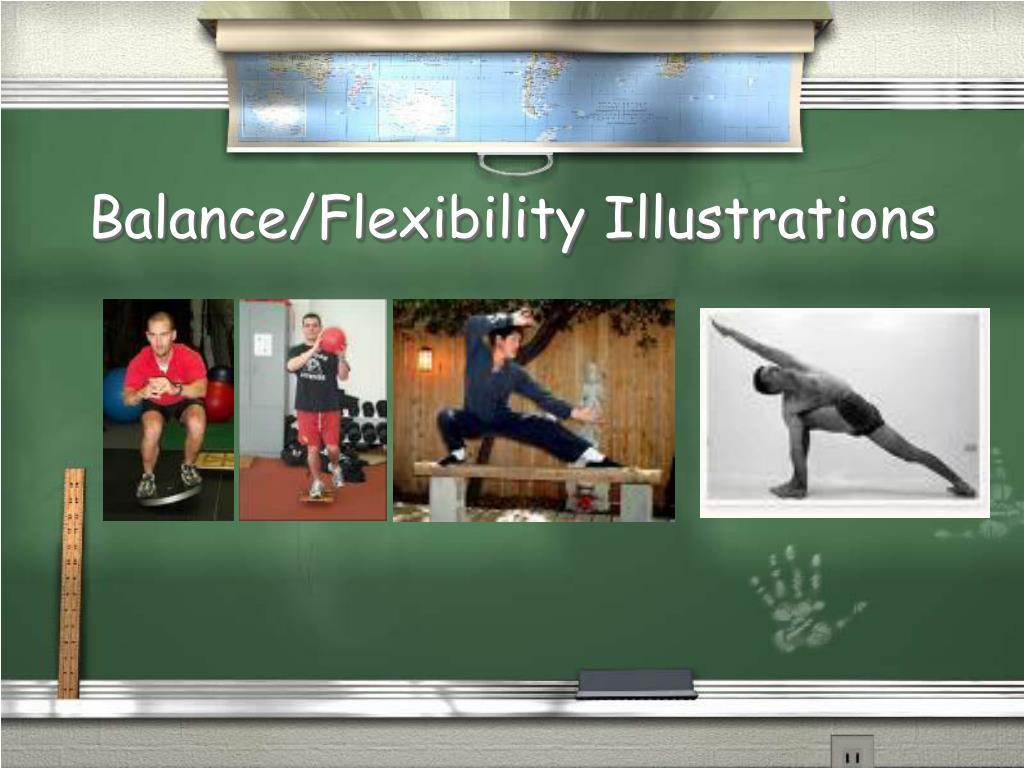 Balance/Flexibility Illustrations
