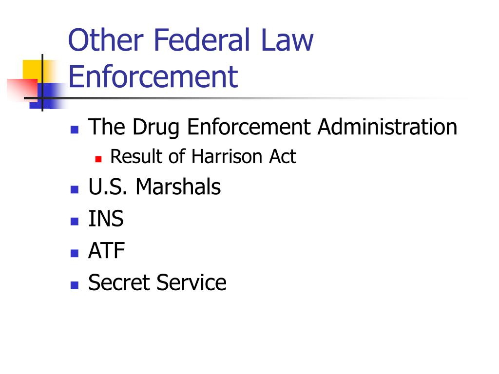 Other Federal Law Enforcement